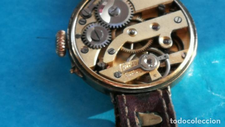 Relojes de pulsera: Botito y rarote reloj de pulsera, funciona pero a veces se para, por tanto para reparar o piezas - Foto 26 - 195048415