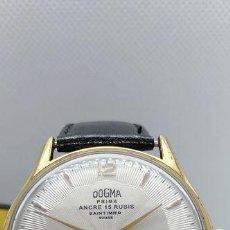 Relojes de pulsera: DOGMA - JUMBO - ESFERA TEXTURIZADA VINTAGE - HOMBRE - 1950-1959. Lote 195048867