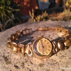 Relojes de pulsera: RELOJ DE MUJER DUWARD ORO. Lote 195050730