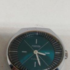 Relojes de pulsera: RELOJ MORTIMA VINTAGE CARGA MANUAL FUNCIONANDO. Lote 195087470
