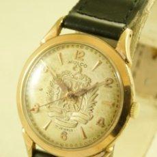 Relojes de pulsera: RARO MULCO MECANICO ESFERA VENEZUELA EN RELIEVE AÑOS 50. Lote 195108132