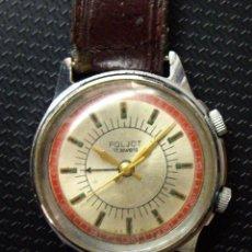 Relojes de pulsera: RELOJ POLJOT DESPERTADOR - CARGA MANUAL - AÑOS 60 - FUNCIONANDO. Lote 195111797