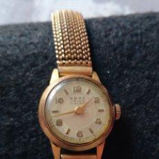 Relojes de pulsera: RELOJ SUIZO ABAZ PRIMA 17 RUBÍS. CARGA MANUAL. FUNCIONANDO PULSERA.. Lote 195112815