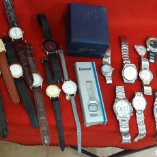 Relojes de pulsera: GRAN LOTE DE RELOJES. Lote 195119740