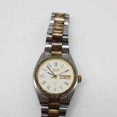 Relojes de pulsera: RELOJ SEIKO ( MUJER ) CON CALENDARIO ( NO SABEMOS SI FUNCIONA ). Lote 195199095