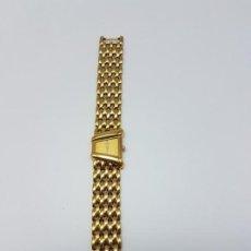 Relojes de pulsera: RELOJ SEIKO ( MUJER ) METAL DORADO ( NO SABEMOS SI FUNCIONA ). Lote 195199860