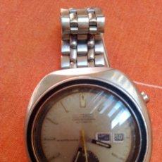 Relojes de pulsera: ANTIGUO RELOJ SEIKO CHRONOGRAPH AUTOMÁTIC 6139 MÁS CITIZEN DE REGALO. Lote 195206216