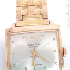 Relojes de pulsera: RELOJ CRISTALWATCH CARGA MANUAL VINTAGE. Lote 195208726