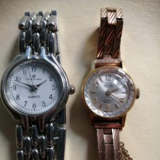 Relojes de pulsera: LOTE DE DOS RELOJES MARCA OSCAR Y MARCA LOUIS JOURDAN. Lote 195209713