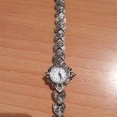 Relojes de pulsera: ANTIGUO RELOJ DE PLATA. Lote 195230618