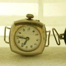 Relojes de pulsera: LOTE DE 3 RELOJES TRANSICION BOLSILLO PULSERA MECANICOS AÑOS 20/30 PLATA C22. Lote 195263698