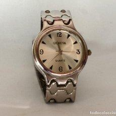 Relojes de pulsera: RELOJ DE PULSERA MARCA GENEVA QUARTZ. Lote 195267862