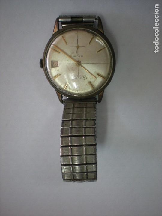 REJOJ CAUNY BAÑADO EN ORO, CON Nº 325-182-6410, 17 RUBIES (Relojes - Pulsera Carga Manual)
