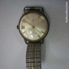 Relojes de pulsera: REJOJ CAUNY BAÑADO EN ORO, CON Nº 325-182-6410, 17 RUBIES. Lote 195314352