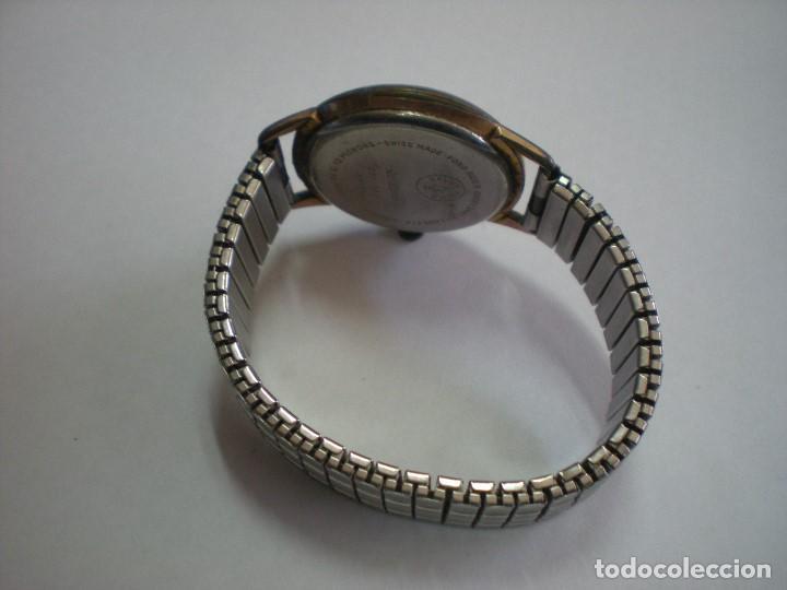 Relojes de pulsera: REJOJ CAUNY BAÑADO EN ORO, CON Nº 325-182-6410, 17 RUBIES - Foto 2 - 195314352