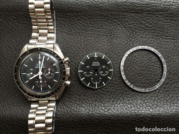 Relojes de pulsera: Omega Speedmaster Professional Pre moon + dial + bisel - Foto 2 - 195322978