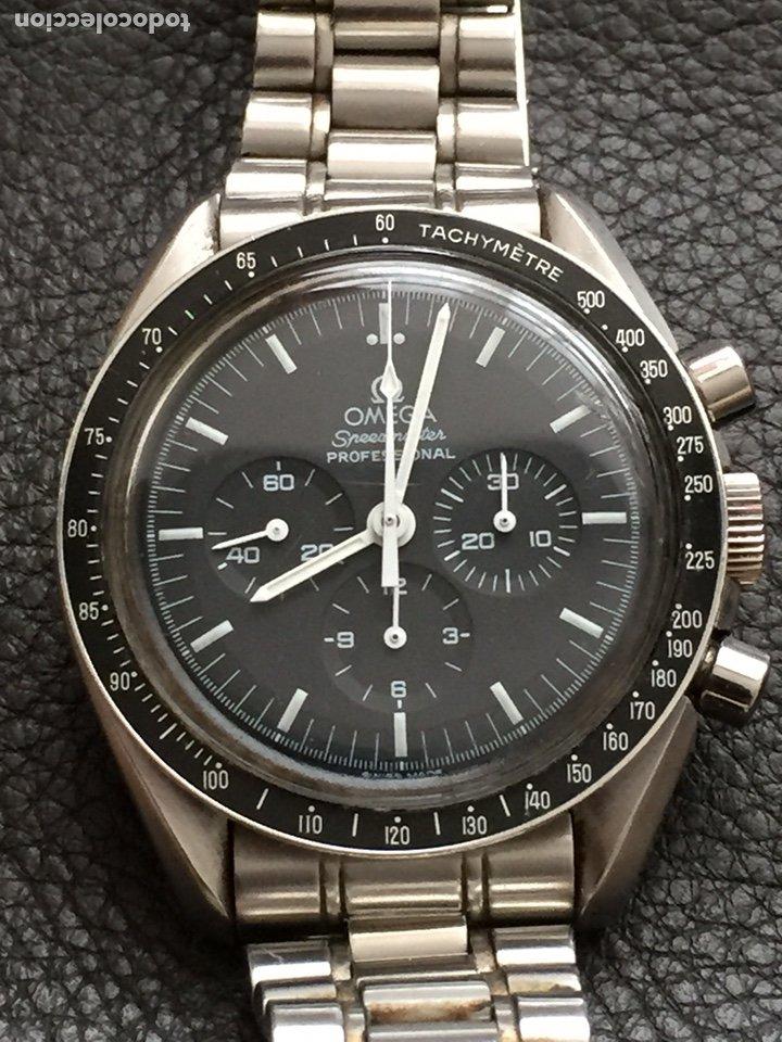 Relojes de pulsera: Omega Speedmaster Professional Pre moon + dial + bisel - Foto 3 - 195322978