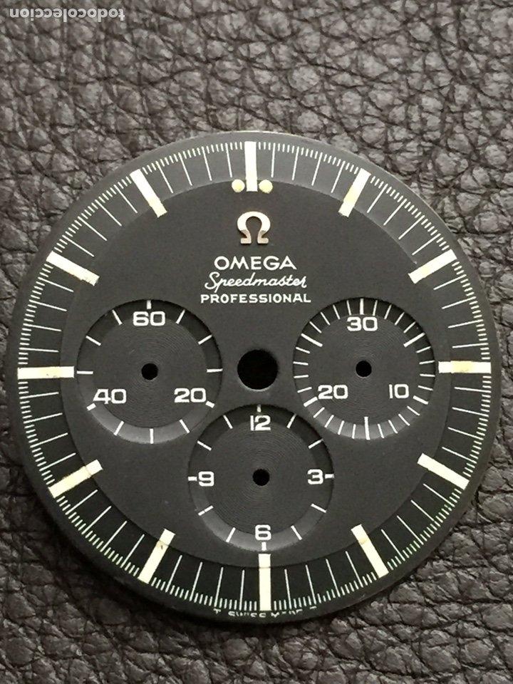 Relojes de pulsera: Omega Speedmaster Professional Pre moon + dial + bisel - Foto 7 - 195322978