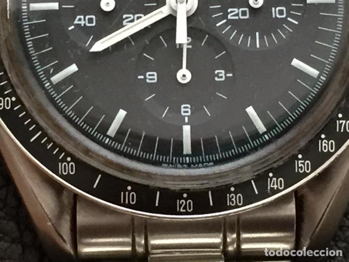 Relojes de pulsera: Omega Speedmaster Professional Pre moon + dial + bisel - Foto 18 - 195322978
