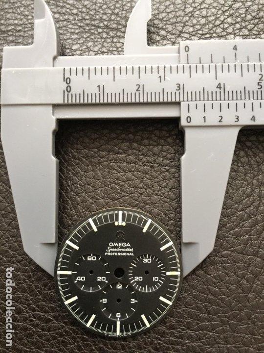Relojes de pulsera: Omega Speedmaster Professional Pre moon + dial + bisel - Foto 19 - 195322978