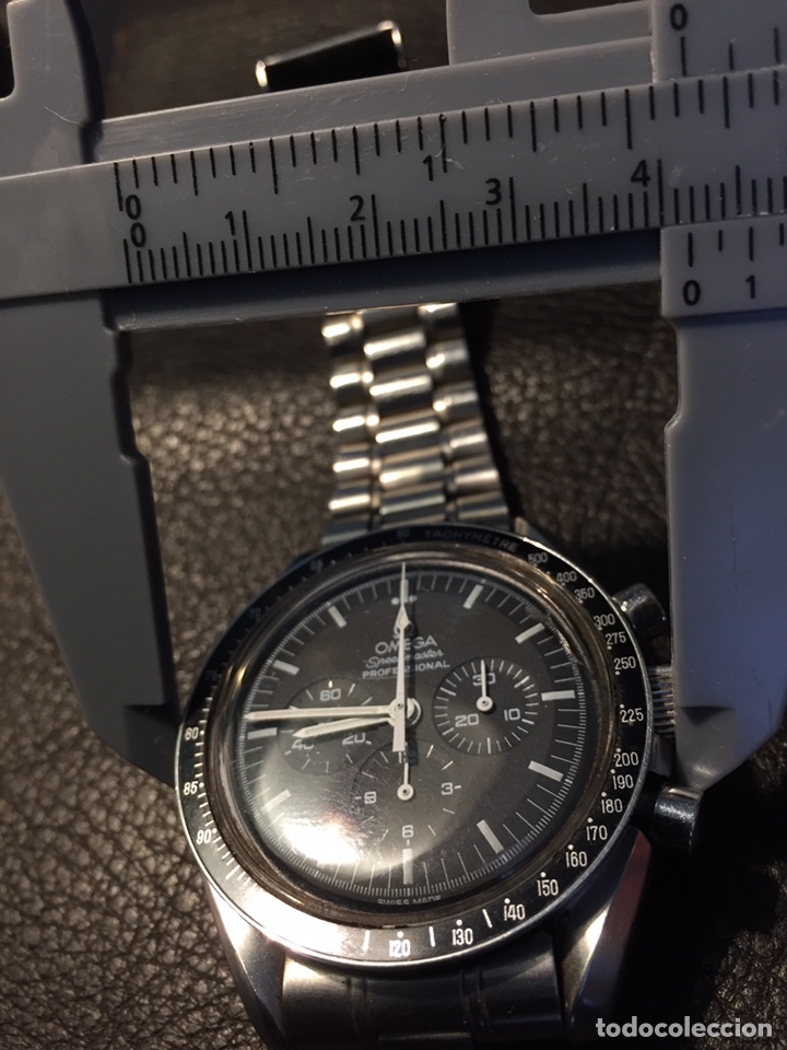 Relojes de pulsera: Omega Speedmaster Professional Pre moon + dial + bisel - Foto 24 - 195322978