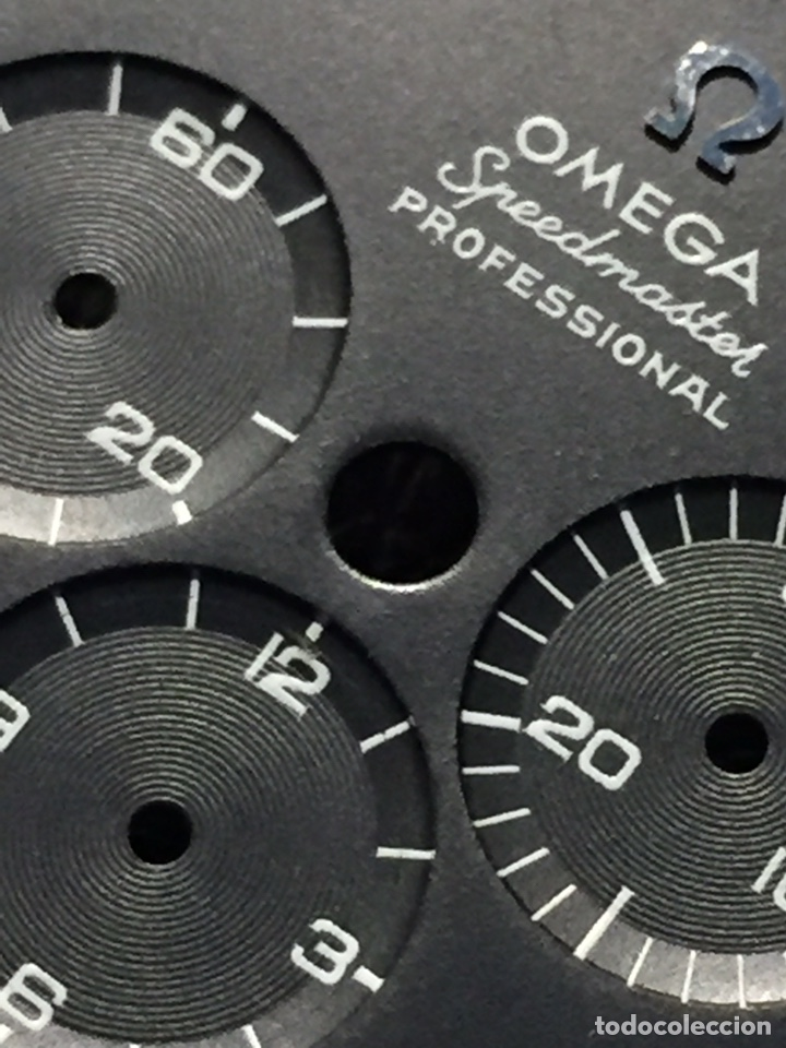 Relojes de pulsera: Omega Speedmaster Professional Pre moon + dial + bisel - Foto 5 - 195322978