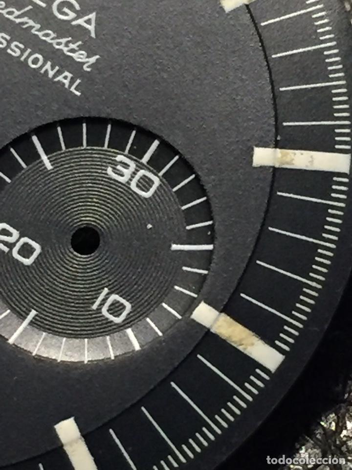 Relojes de pulsera: Omega Speedmaster Professional Pre moon + dial + bisel - Foto 33 - 195322978