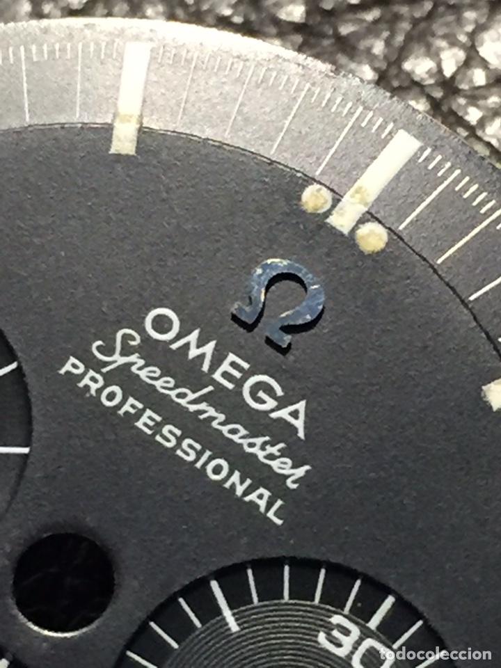Relojes de pulsera: Omega Speedmaster Professional Pre moon + dial + bisel - Foto 6 - 195322978