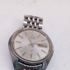 Relojes de pulsera: RELOJ SEIKO AUTOMÁTICO ACERO COMPLETO COMO NUEVO 7006-8002. Lote 195328626
