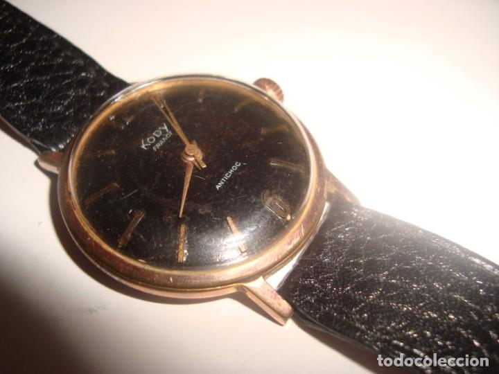 RELOJ KODY ANTICHOC ,CARGA MANUAL , FUNCIONANDO VINTAGE (Relojes - Pulsera Carga Manual)