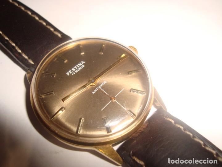 RELOJ FESTINA ANTICHOC CARGA MANUAL FUNCIONANDO (Relojes - Pulsera Carga Manual)
