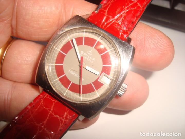 RELOJ BAYLOR NORSEMAN CARGA MANUAL FUNCIONANDO (Relojes - Pulsera Carga Manual)