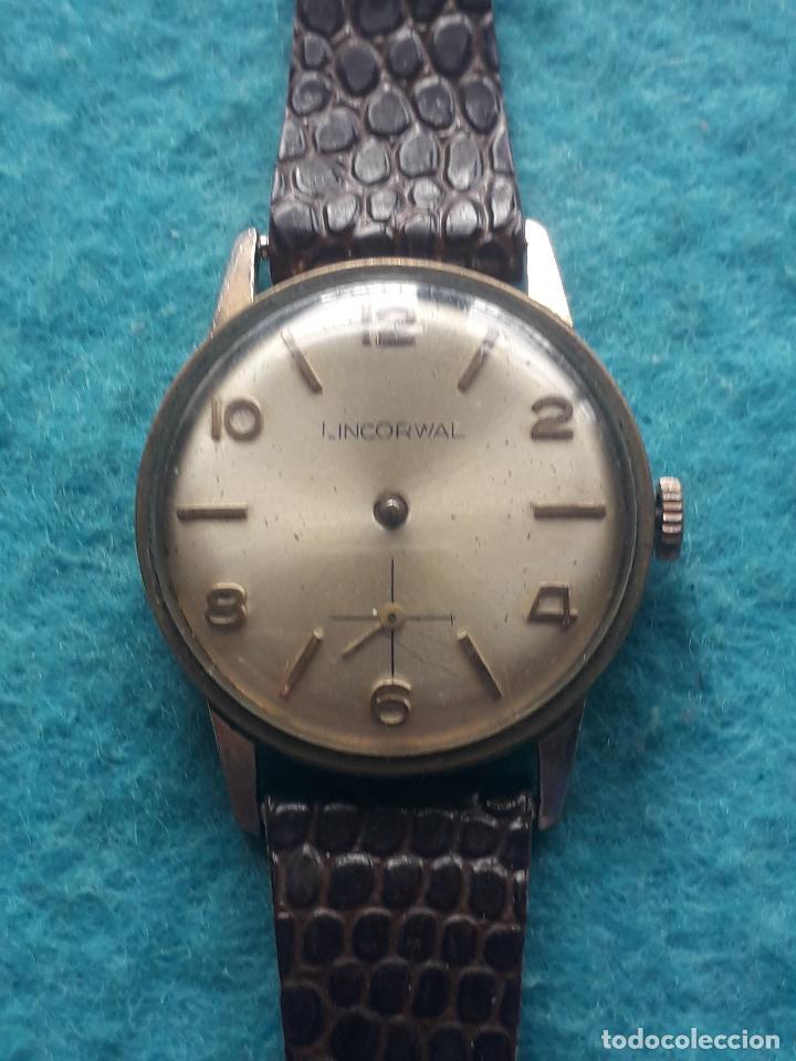 Relojes de pulsera: Reloj marca Lincorwal. Clásico de caballero. - Foto 10 - 195381645