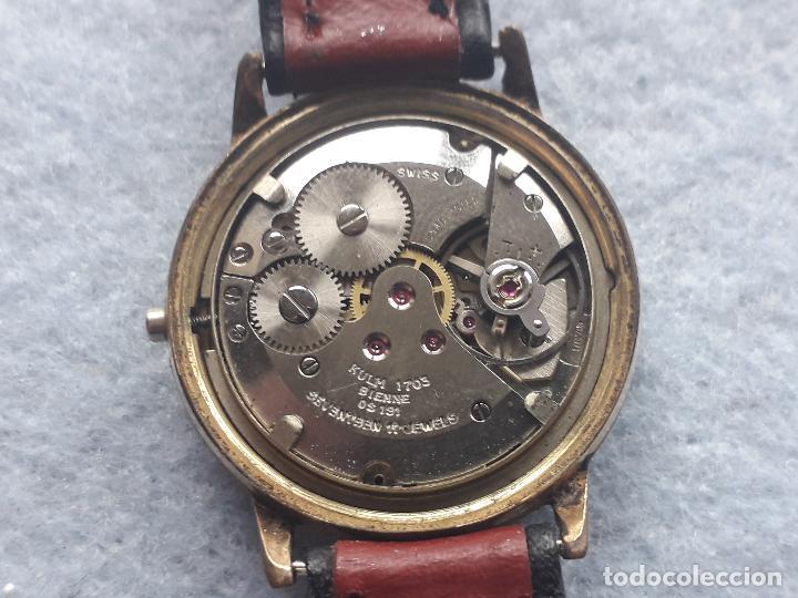 Relojes de pulsera: Reloj marca Kulm Sport. Clásico de caballero. Swiss made - Foto 8 - 195382146