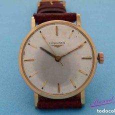 Relojes de pulsera: LONGINES ORO CARGA MANUAL AÑOS '60. Lote 195395112