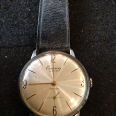 Relojes de pulsera: RELOJ CAUNY ÚNICO 15 RUBIA, FUNCIONA. Lote 195404053