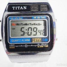 Relojes de pulsera: TIGUO Y ORIGINAL TITAN MUSICAL MELODY DE 1980 TODO UN CLASICO !! LOTE WATCHES. Lote 195420918