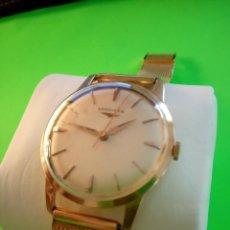 Relojes de pulsera: RELOJ OMEGA DE ORO 18 K. 0.750 MILESIMAS. DE 1.964. MANUAL. TESTADO Y FUNCIONANDO. DESCRIP. Y FOTOS.. Lote 195450352