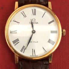 Relojes de pulsera: RELOJ DE ORO DE 18K, EXTRA PLANO OMEGA DE VILLE. CARGA MANUAL. Lote 195540551