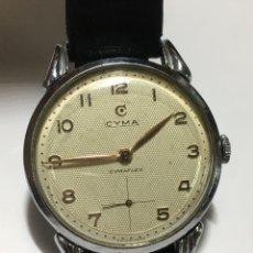 Relojes de pulsera: RELOJ CYMA CARGA MANUAL MAQUINARIA ORIGINAL SWISS EN FUNCIONAMIENTO. Lote 195549975