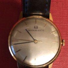 Relojes de pulsera: RELOJ DE CARGA MANUAL, EXTRAPLANO, DE ORO DE 18K, UNIVERSAL GENEVE.. Lote 195632672