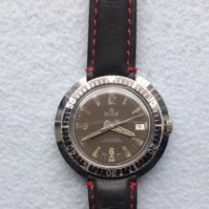 Relojes de pulsera: RELOJ MARCA WILSON. TIPO SUBMARINISTA DE CABALLERO. FUNCIONANDO. Lote 195950657