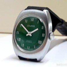 Relojes de pulsera: RELOJ VINTAGE DUWARD DE SEÑORA AÑOS 70 CARGA MANUAL NUEVO A ESTRENAR . Lote 196052808