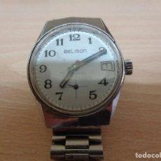 Relojes de pulsera: ANTIGUO RELOJ BELISON ANTICHOC. FUNCIONA. Lote 196111628