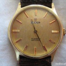 Relojes de pulsera: RELOJ DE PULSERA ALEXON CARGA MANUAL-CUERDA - FUNCIONANDO - SIN ESTRENAR. Lote 196147942