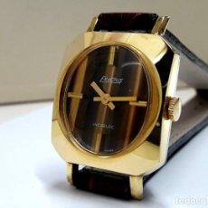 Relojes de pulsera: BELLO RELOJ VINTAGE DE SEÑORA MARCA EXACTUS AÑOS 70 DE CARGA MANUAL Y NUEVO A ESTRENAR . Lote 196276693