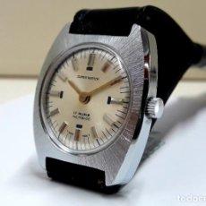 Relojes de pulsera: RELOJ VINTAGE DE SEÑORA MARCA SUPER WATCH AÑOS 70 CARGA MANUAL Y NUEVO A ESTRENAR . Lote 196307753