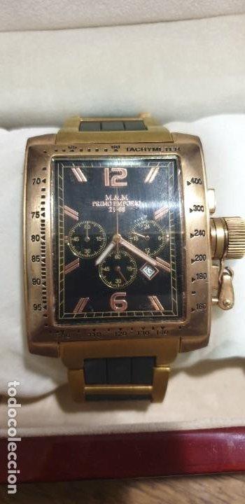 RELOJ PULSERA PRIMO EMPORIO M&M 21-68 COLOR ORO ROSA CAJA THERMIDOR (Relojes - Pulsera Carga Manual)