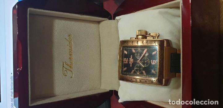 Relojes de pulsera: Reloj pulsera primo emporio M&M 21-68 color oro rosa caja thermidor - Foto 2 - 196723303