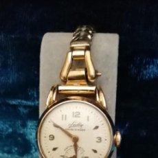 Relojes de pulsera: ANTIGUO RELOJ DE PULSERA SULLY CHAPADO ORO AÑOS 50. Lote 196780653
